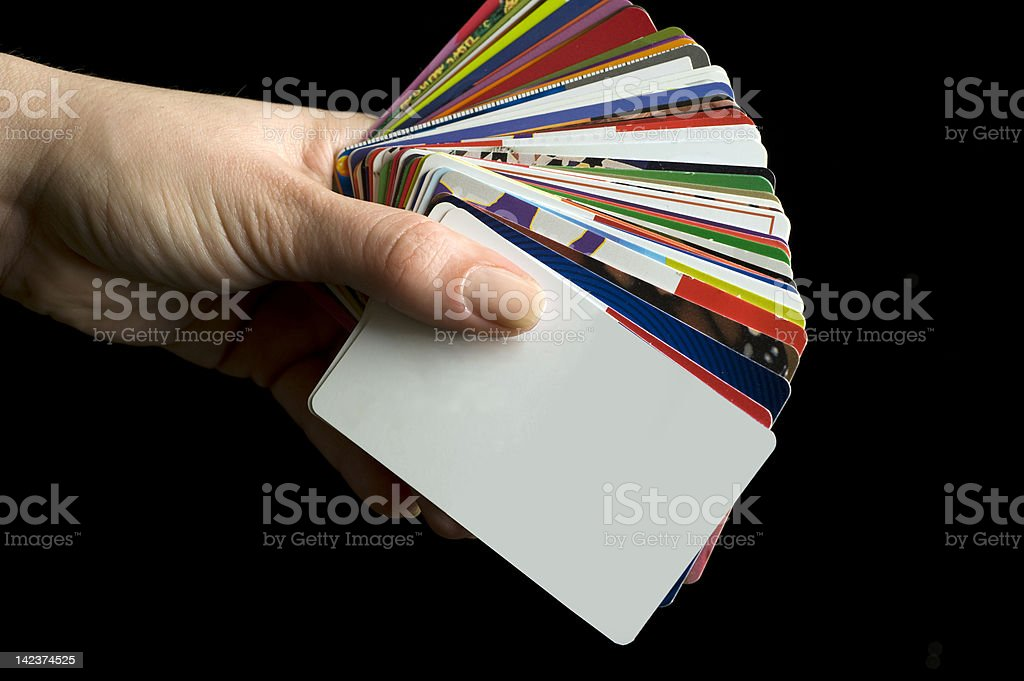 Cards royalty-free stock photo