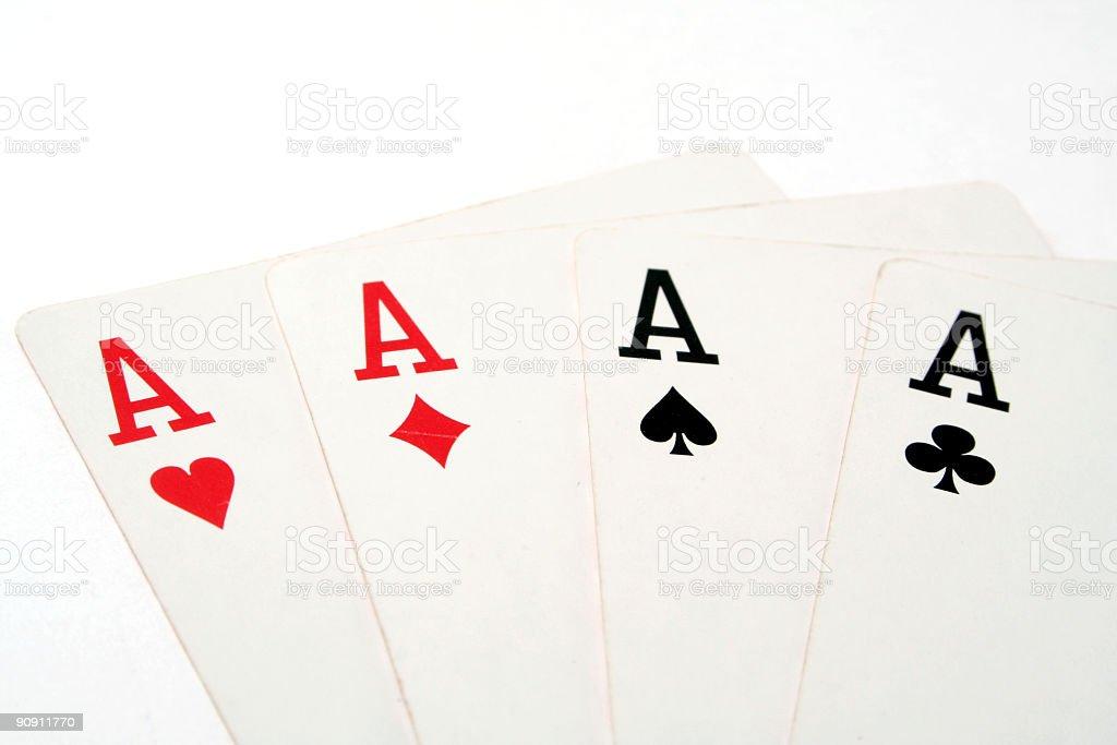 Cards poker blackjack stock photo