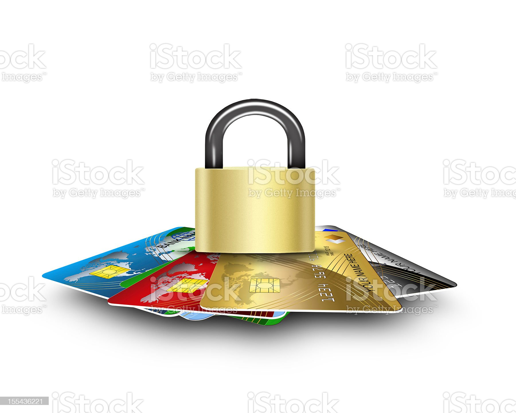 cards security royalty-free stock photo