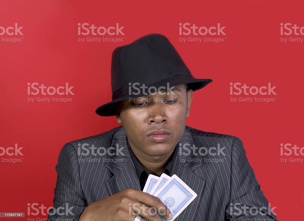 Cardshark royalty-free stock photo