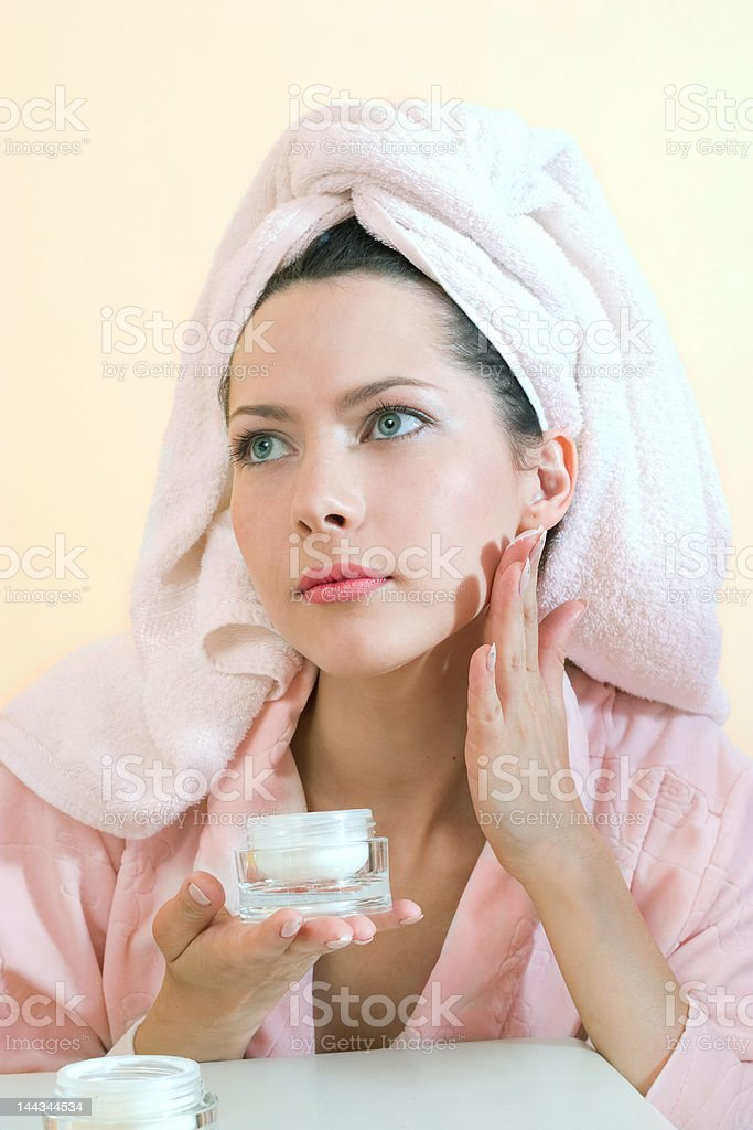 care about beauty royalty-free stock photo