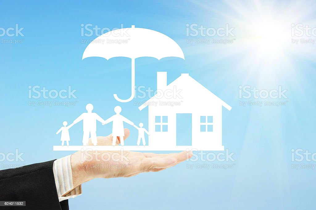 Care about traditional family values stock photo