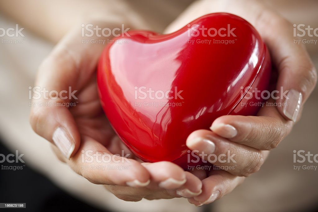 care for your heart stock photo
