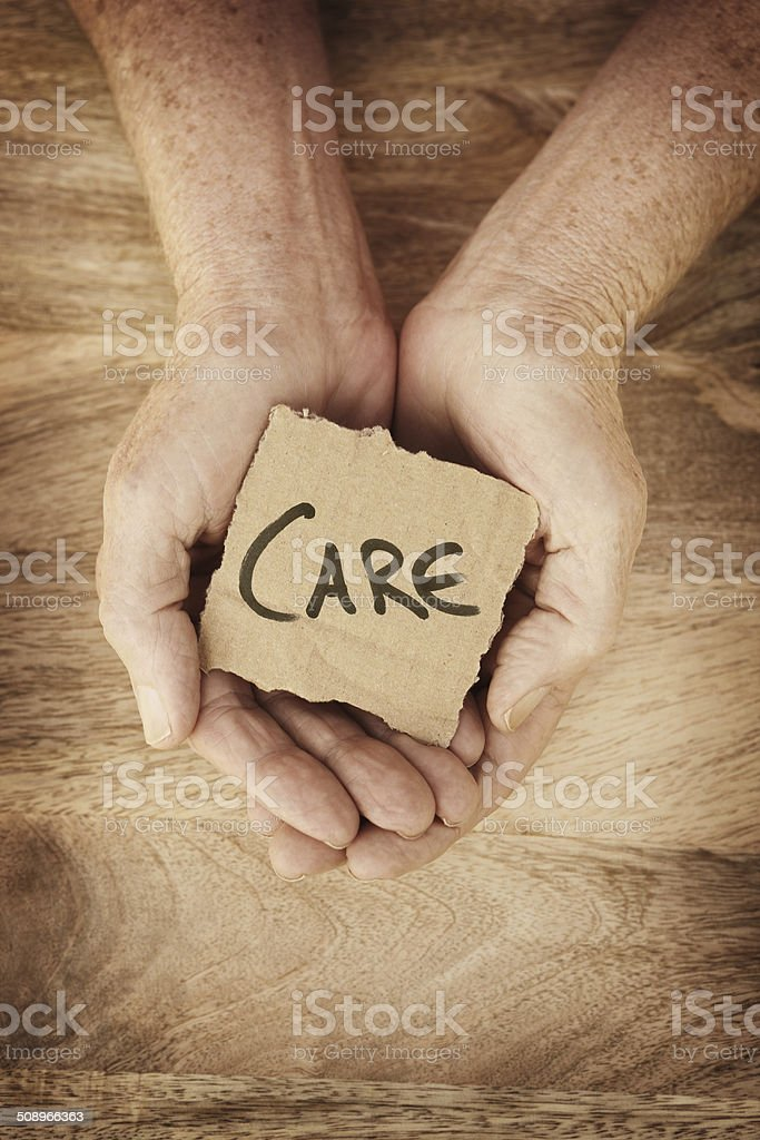 Care stock photo