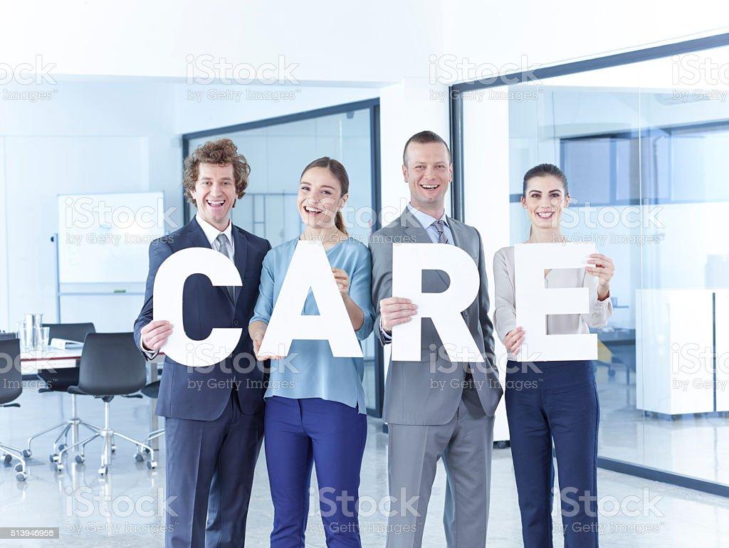 Care stock photo