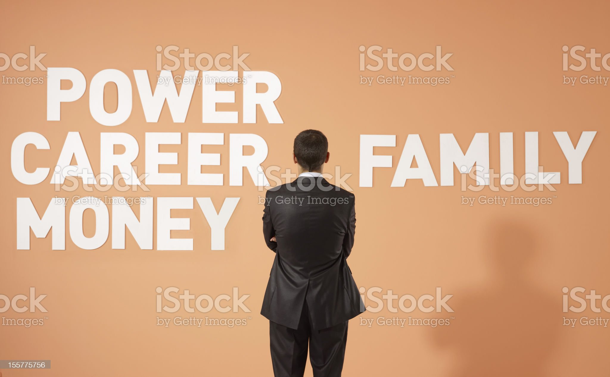 Career and Family royalty-free stock photo