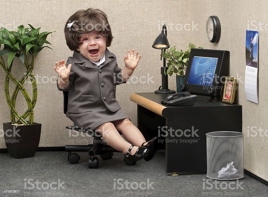 Career Crisis stock photo