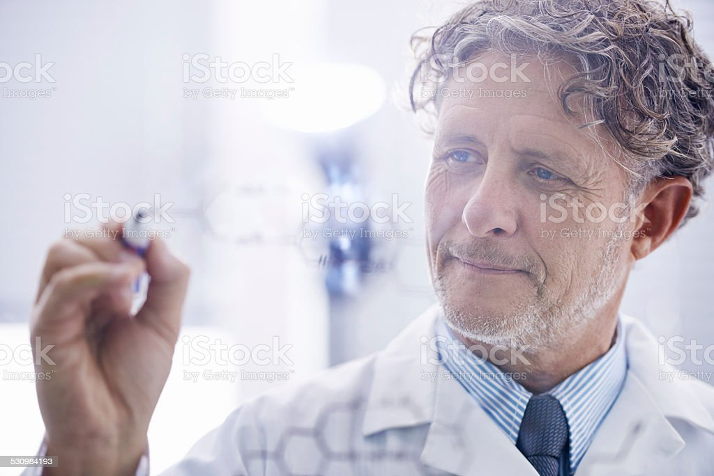 A career doing what he loves stock photo