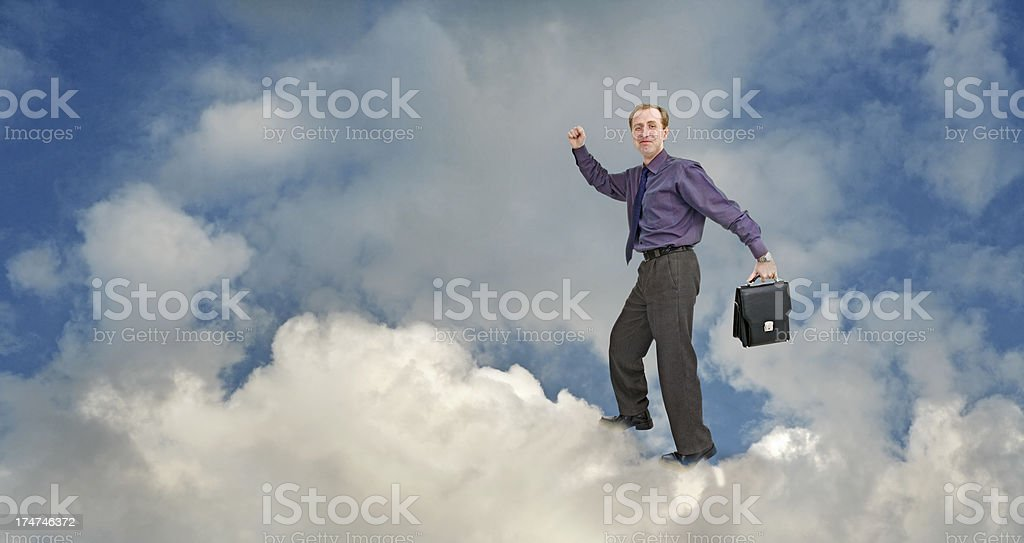 Career growth royalty-free stock photo