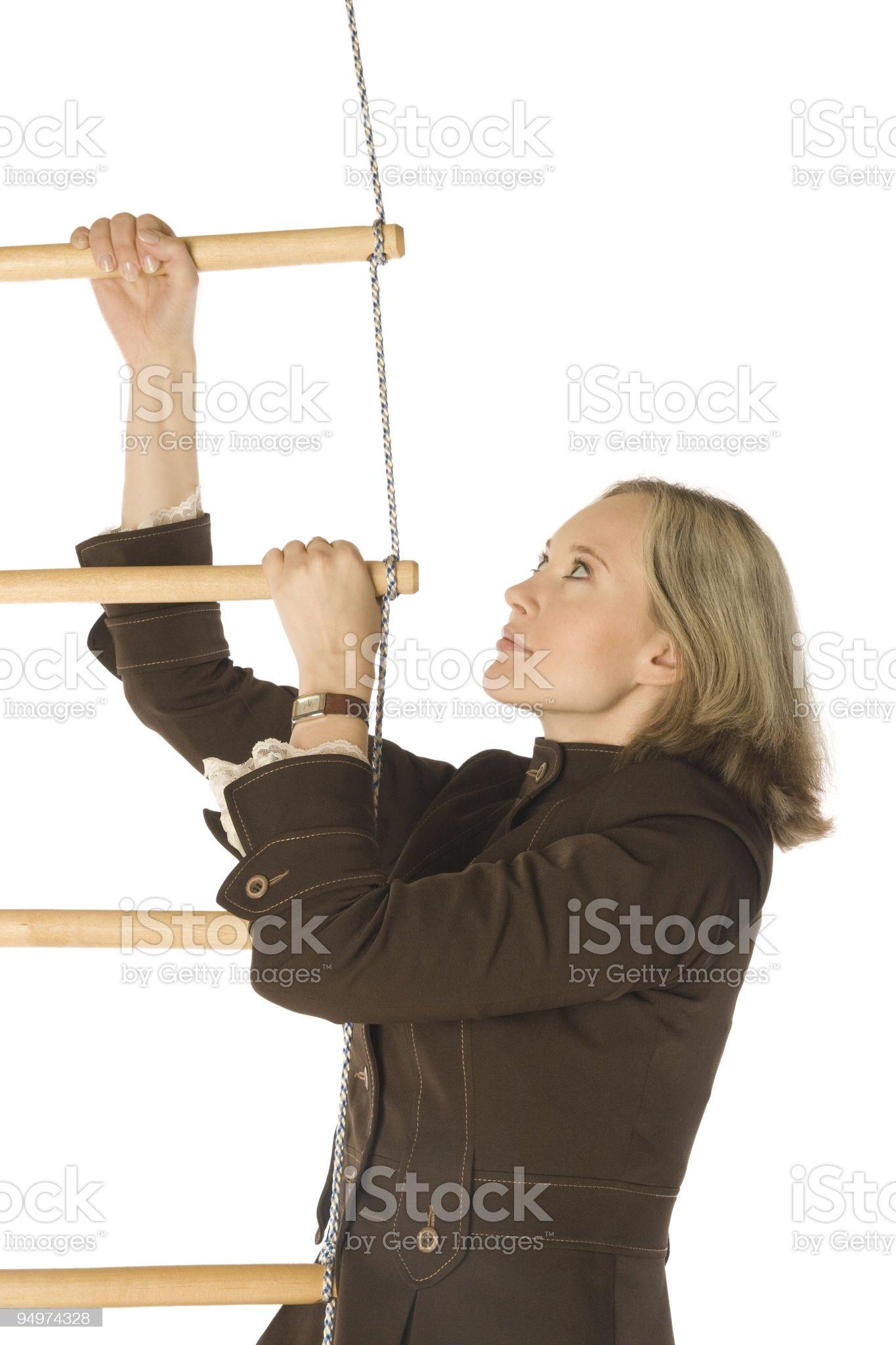 Career ladder royalty-free stock photo