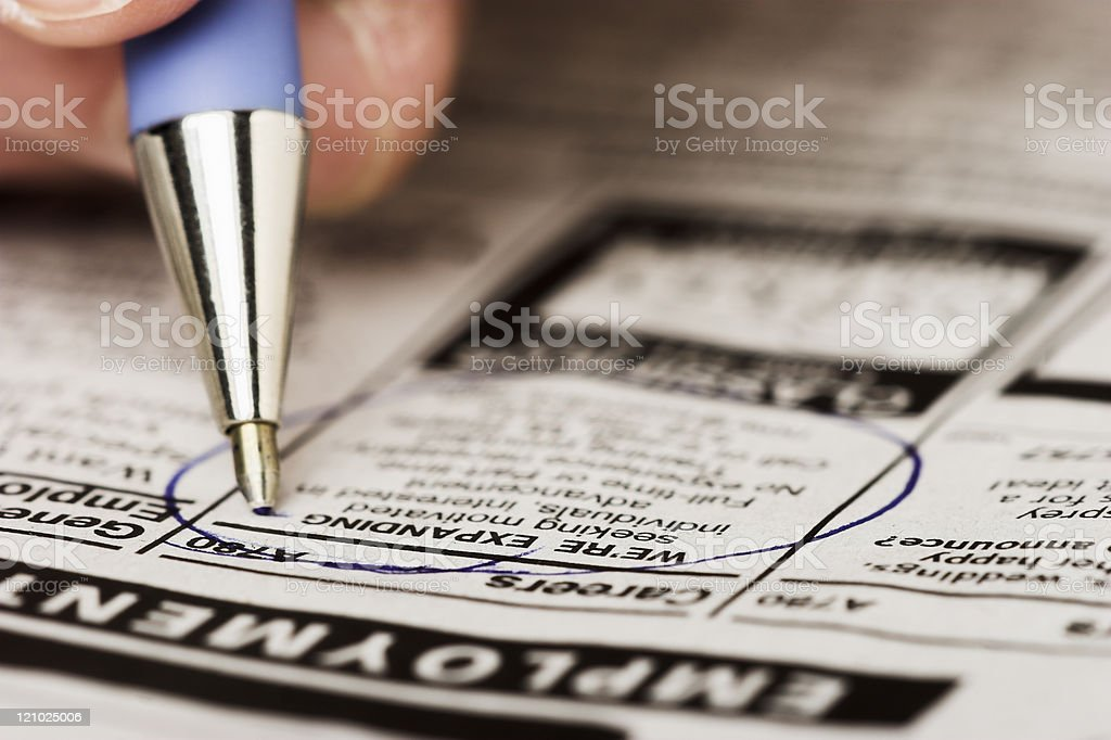 Career move stock photo