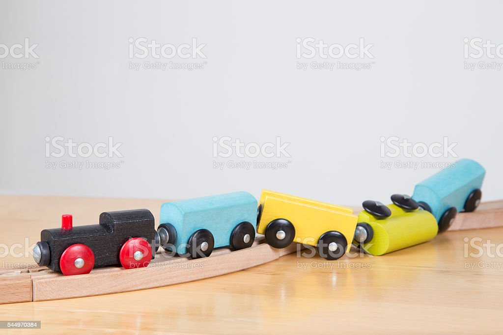 Career of the track - failure concept stock photo