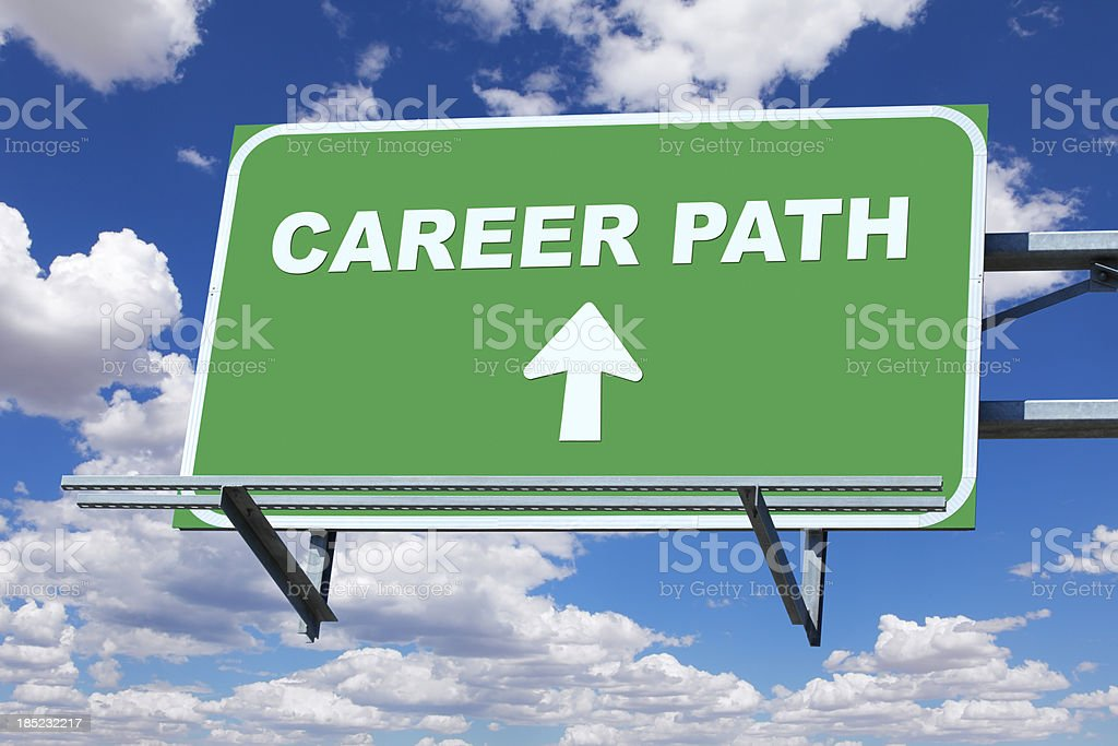 Career Path royalty-free stock photo