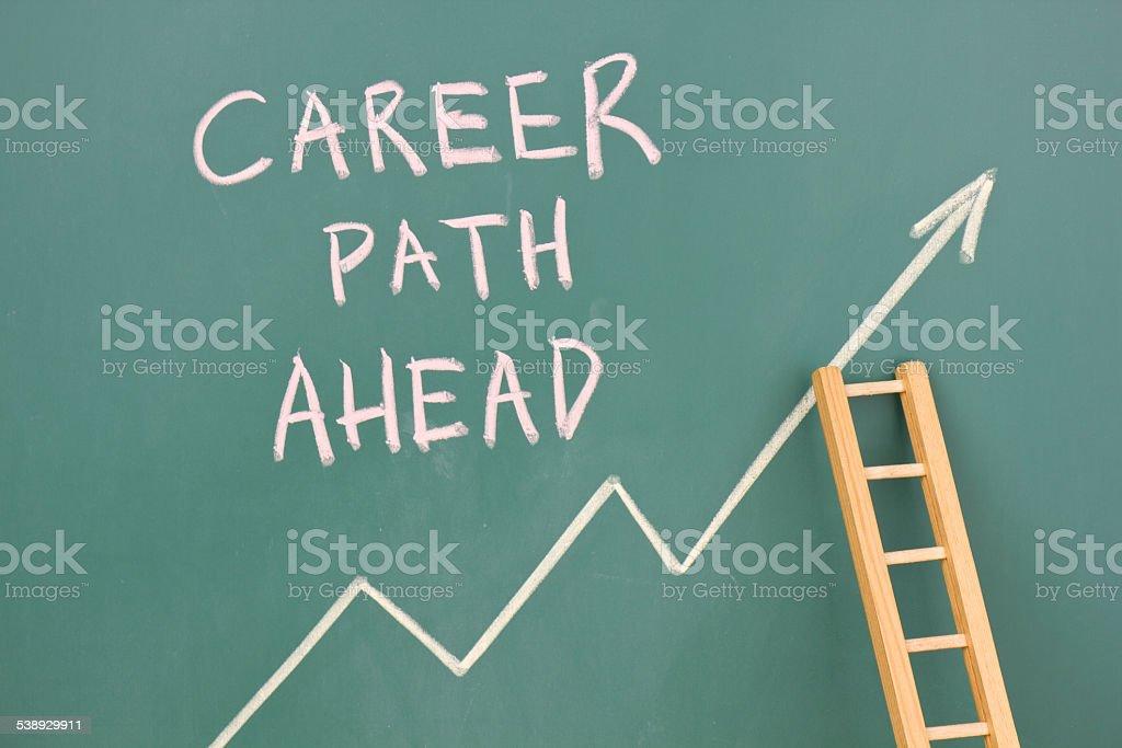 Career plan stock photo