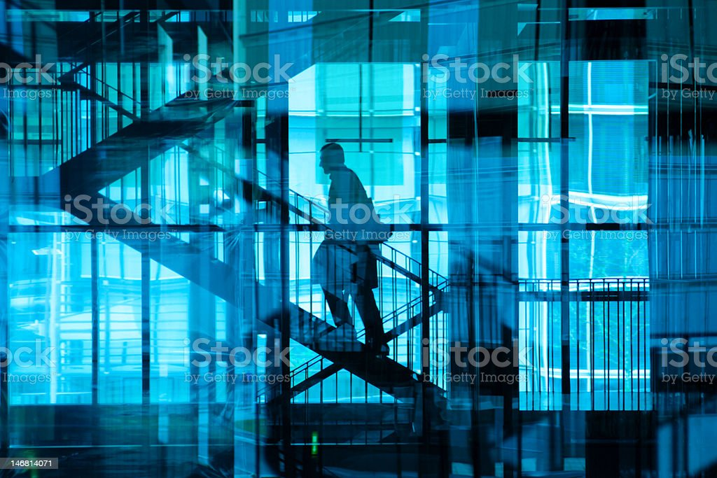 Career Steps royalty-free stock photo