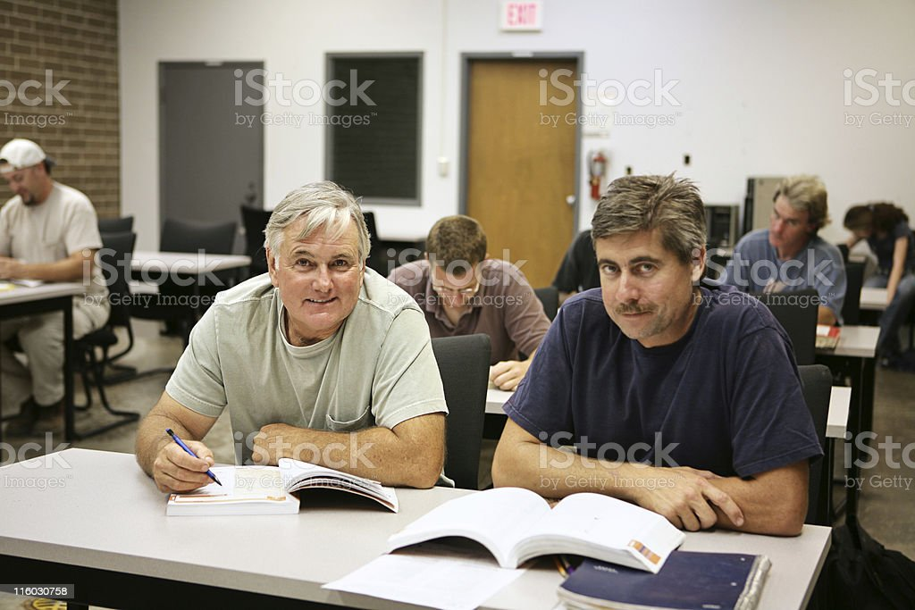Career Training for Adults royalty-free stock photo