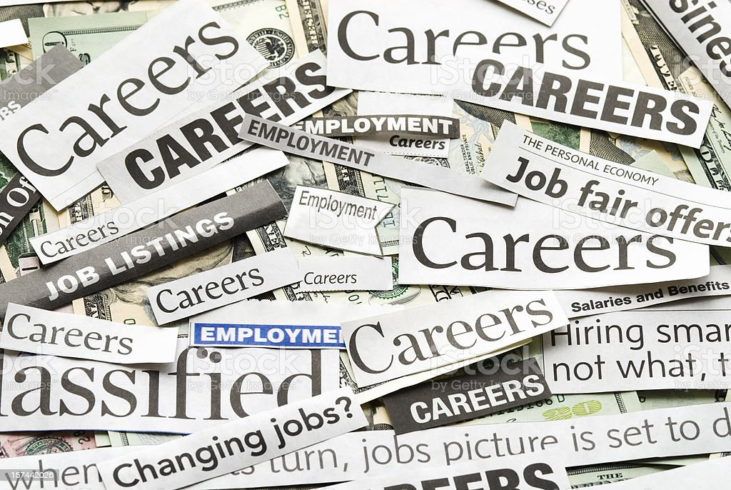 Careers (job search) - I royalty-free stock photo