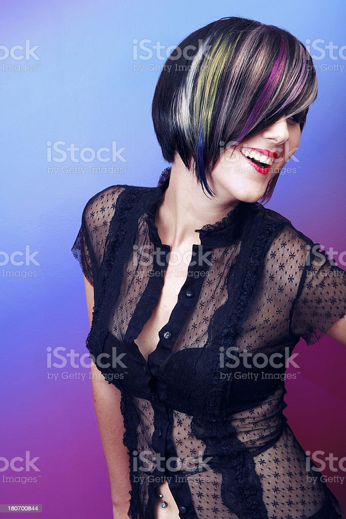 Carefree Color royalty-free stock photo