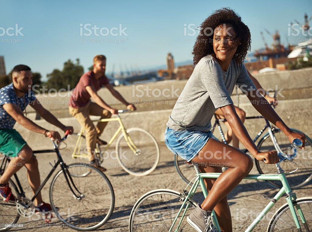 Carefree summer days royalty-free stock photo