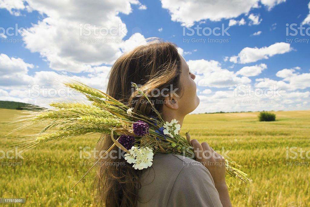 Carefree summer royalty-free stock photo