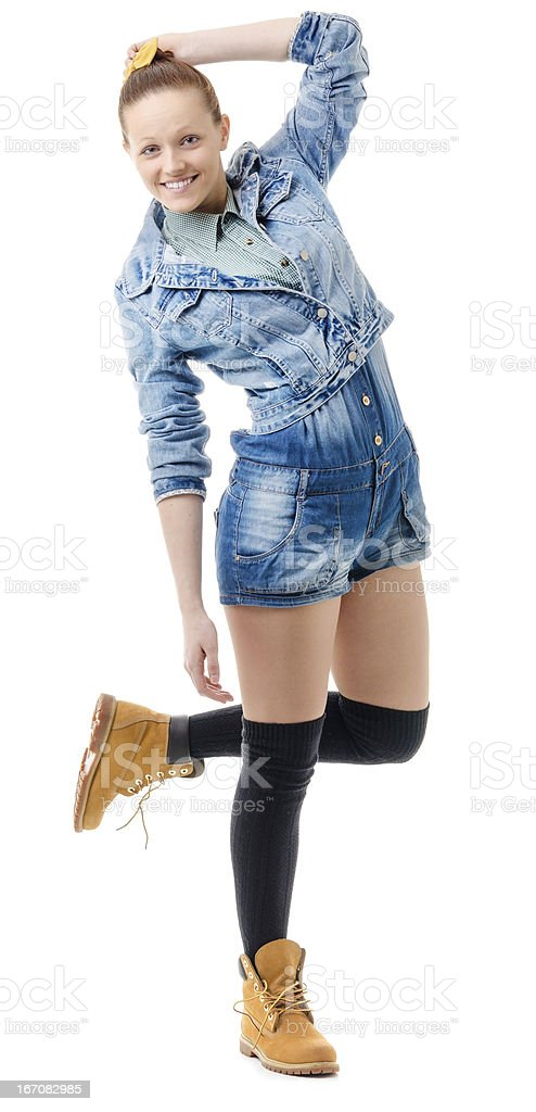 carefree youth royalty-free stock photo