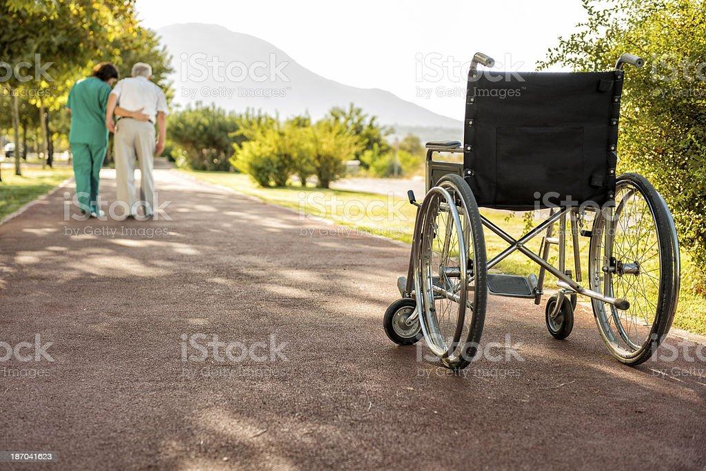 caregiver royalty-free stock photo