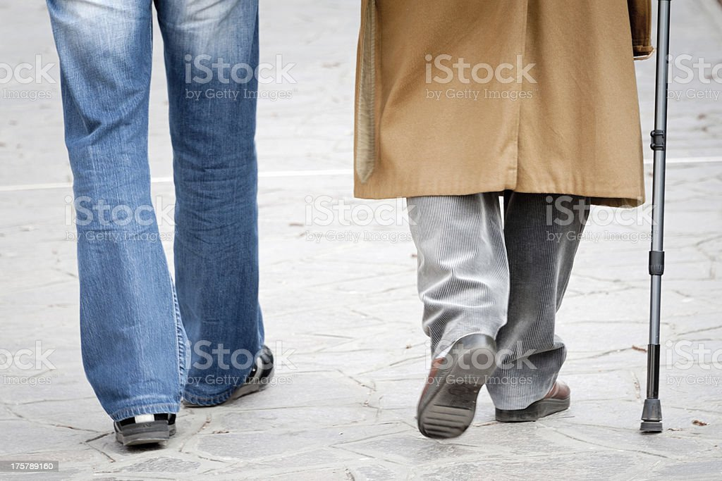 Caregiving royalty-free stock photo