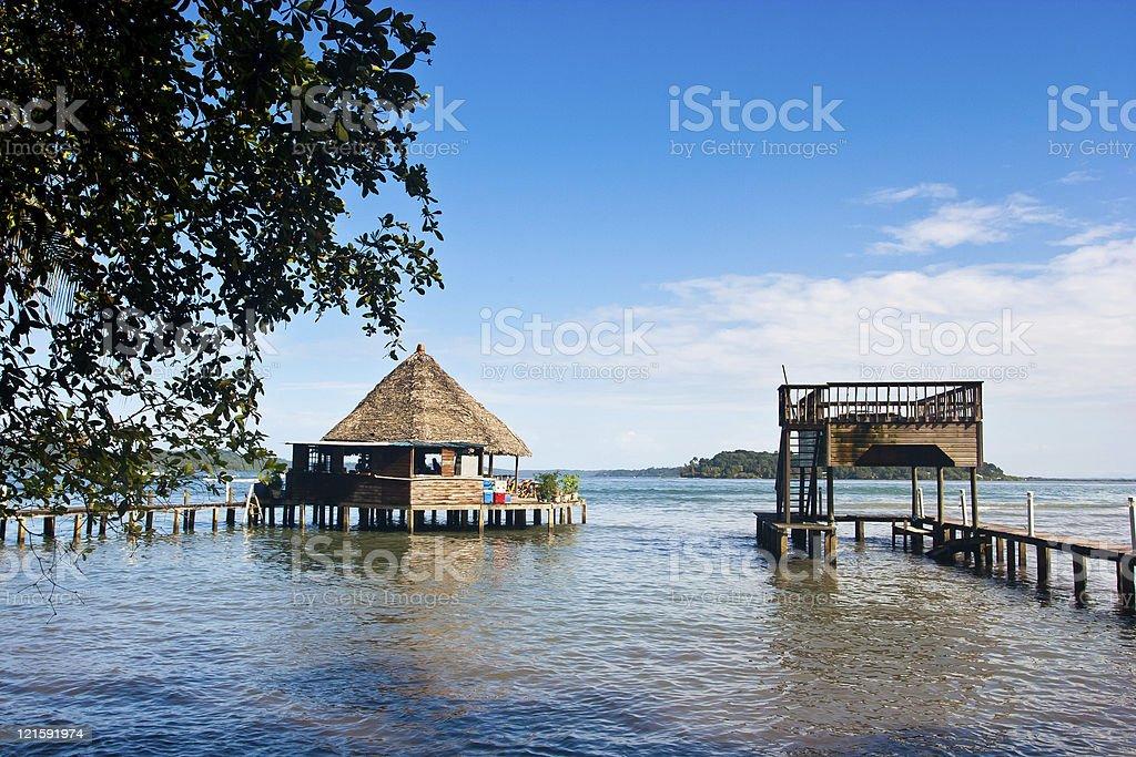 Careneros Island photo libre de droits
