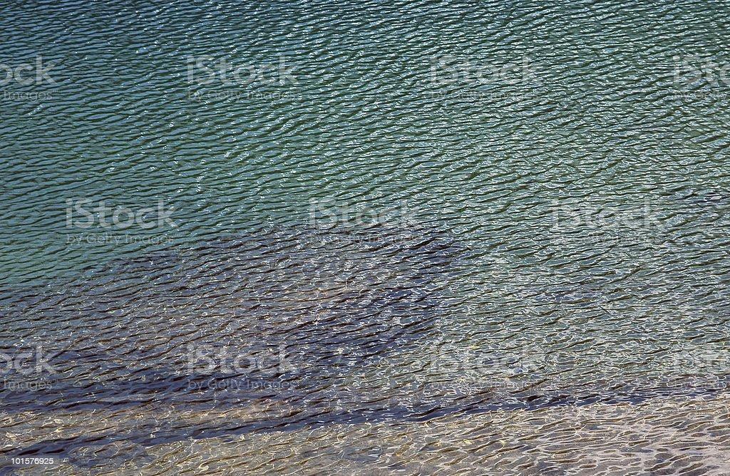 Carezza Lake green waters (Dolomites, Bolzano, Trentino-Alto Adige, Italy) royalty-free stock photo