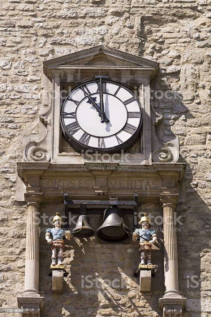Carfax Tower Oxford royalty-free stock photo