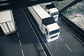 Cargo and freight concept