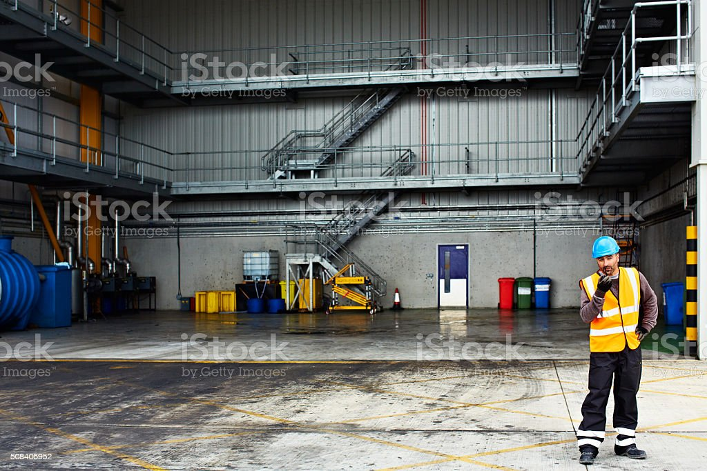 Cargo bay 3 is clear stock photo