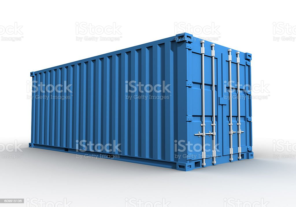 cargo container concept illustration vector art illustration