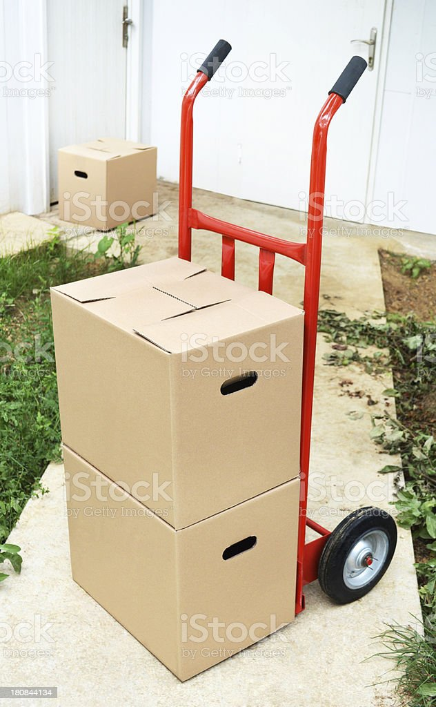 Cargo Delivery (Click for more) royalty-free stock photo