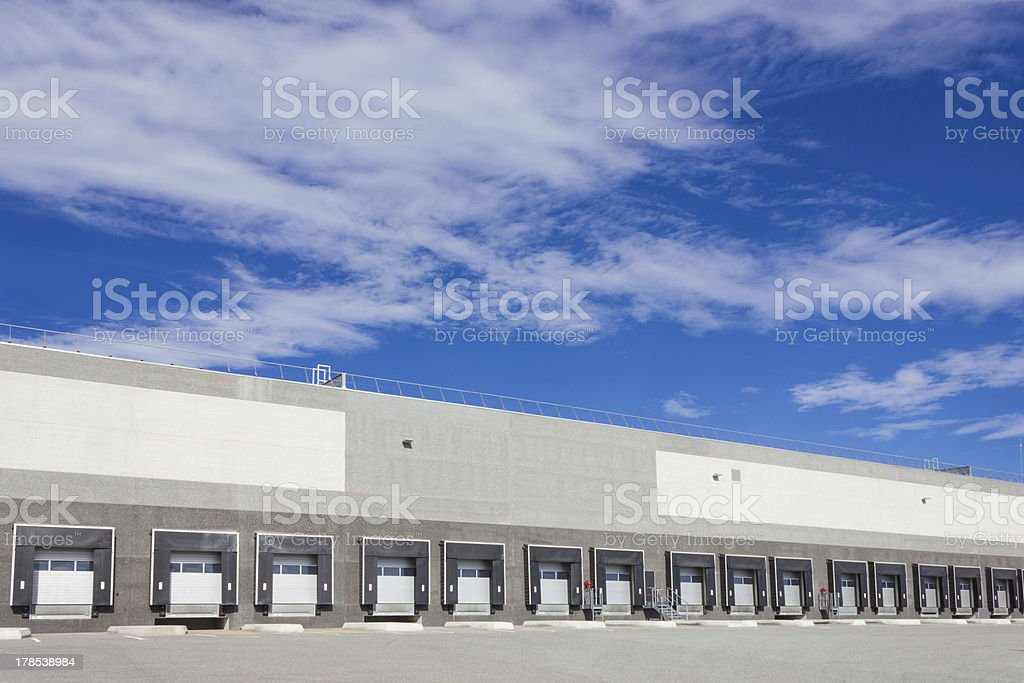 cargo doors royalty-free stock photo