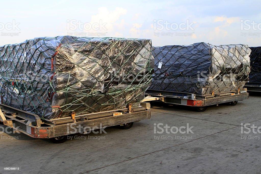 Cargo Loading royalty-free stock photo