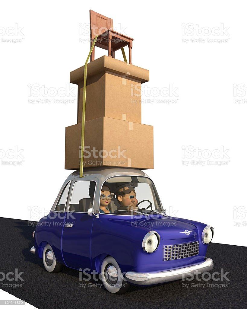 Cargo Overload stock photo