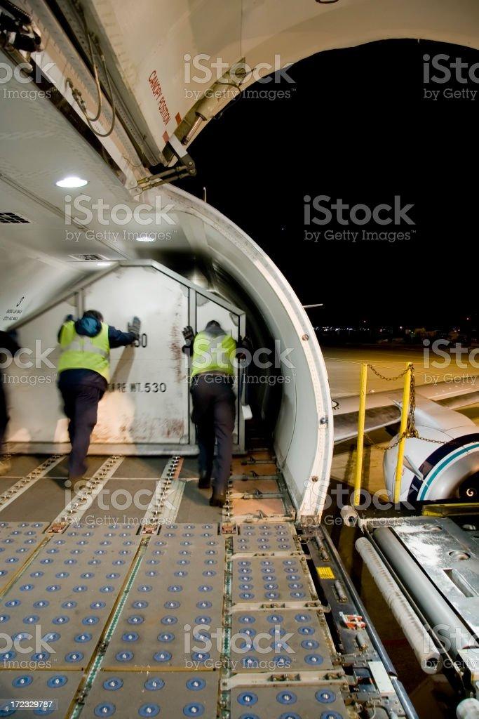 cargo plane royalty-free stock photo