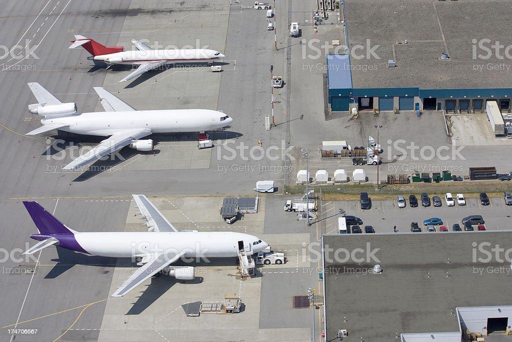 Cargo Planes stock photo
