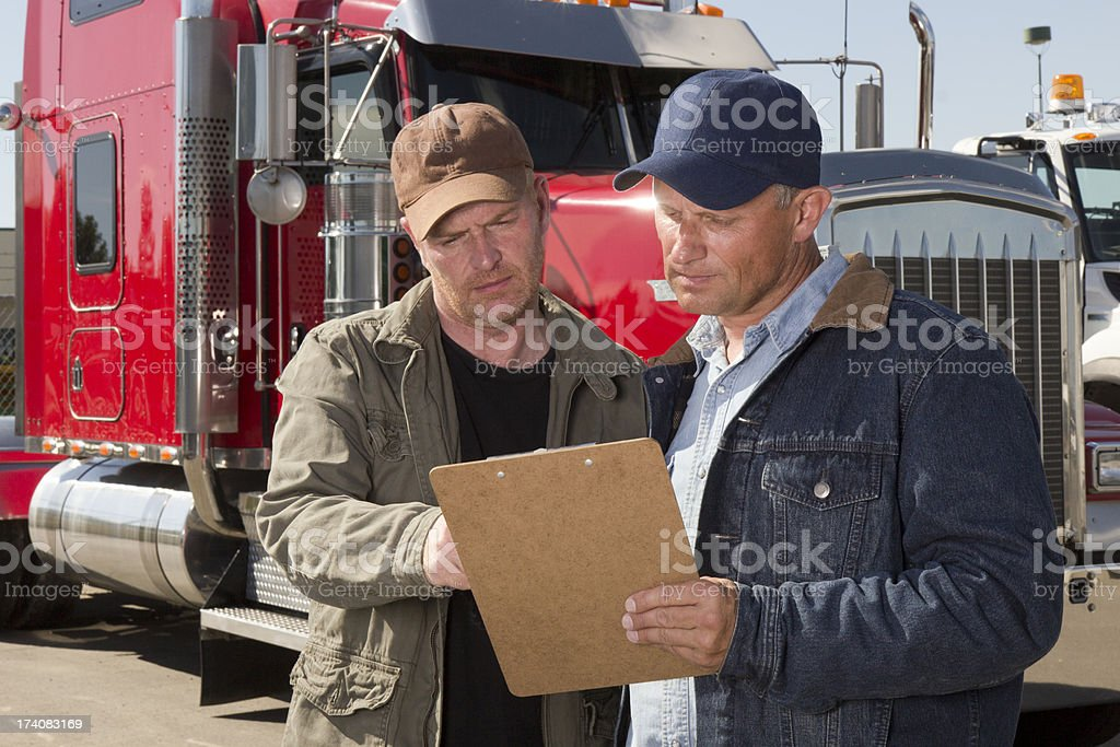 Cargo Review royalty-free stock photo