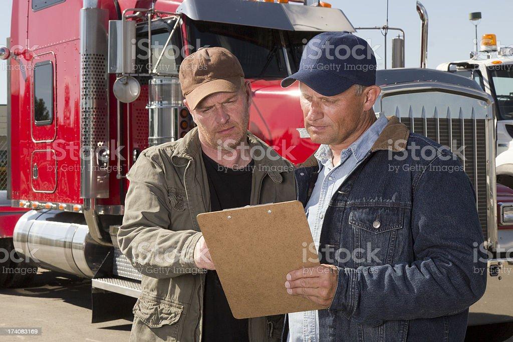 Cargo Review stock photo
