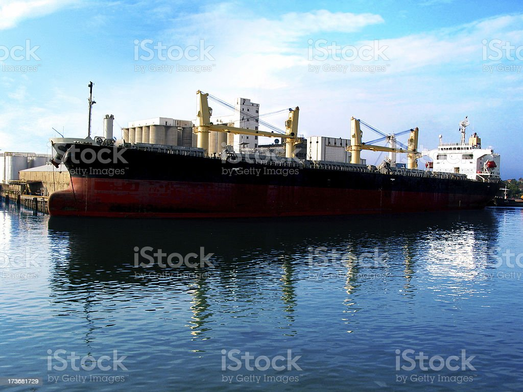 Cargo Schiff Lizenzfreies stock-foto