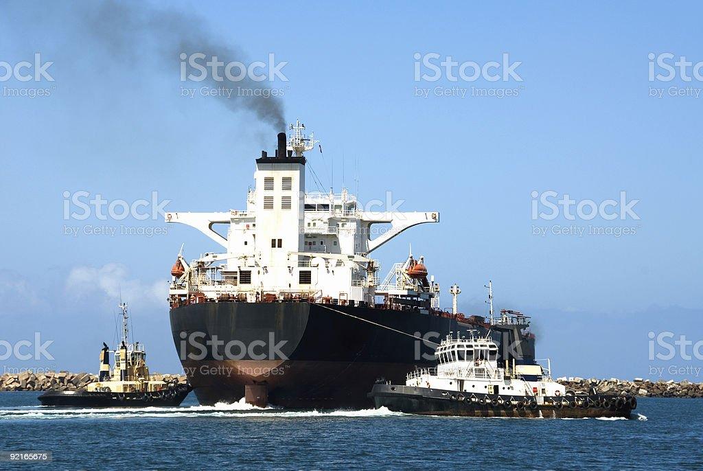 Cargo Ship royalty-free stock photo