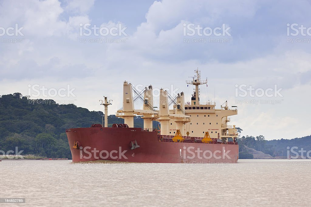 Cargo Vessel royalty-free stock photo