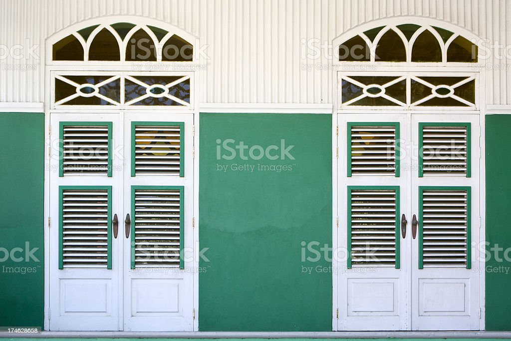 Caribbean Architecture stock photo