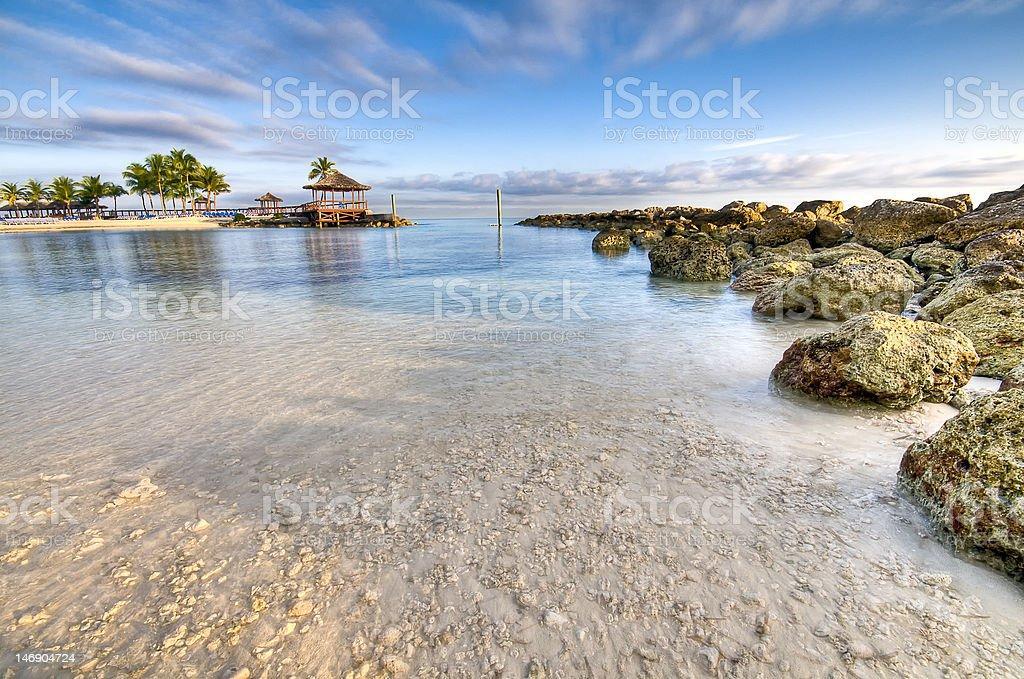 Caribbean Beach royalty-free stock photo