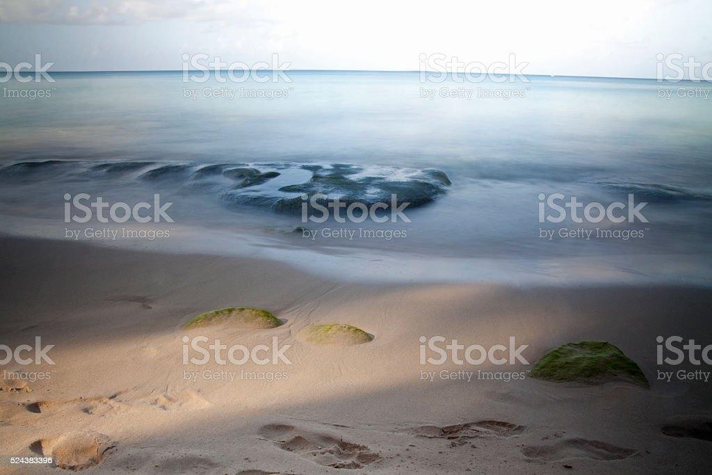 Caribbean Blur stock photo