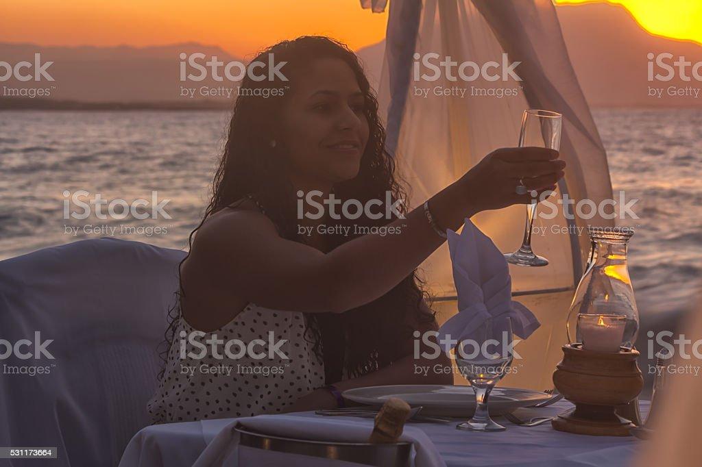 Caribbean Cheers stock photo