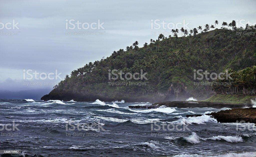 caribbean coast stock photo