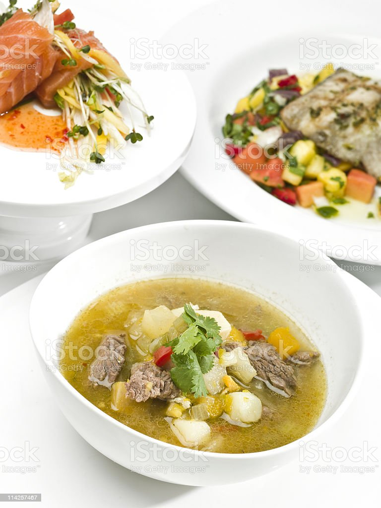 Caribbean Cuisine stock photo